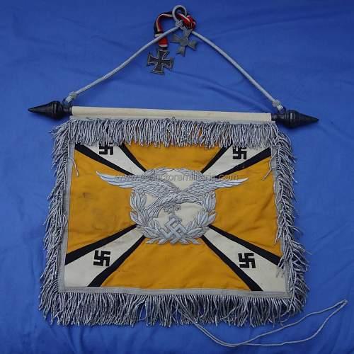 Luftwaffe flight section Schellenbaume Flagge 'Lfl. Kdo.3'