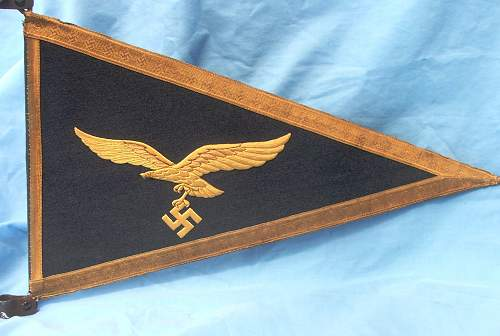 Luftwaffe Generals vehicle pennant
