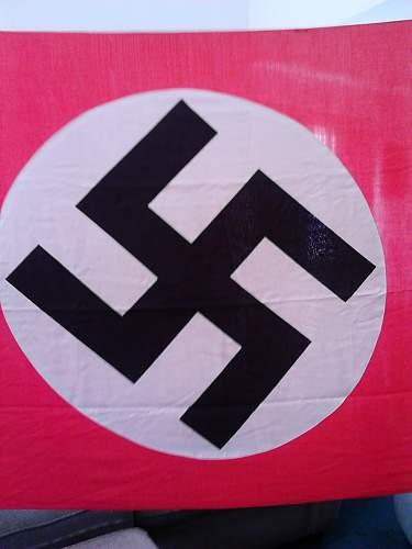 Nazi Banner Flag-Authentic??