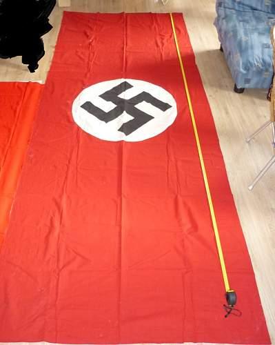 Banner Swastika