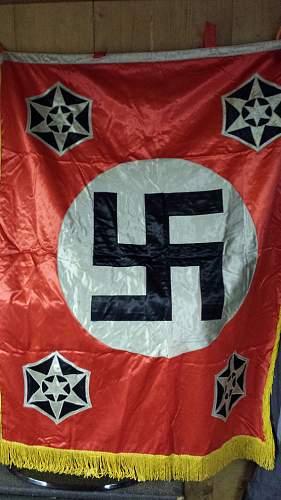 Unusual banner found - please help identify