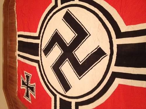 Huge Kriegs Flag - Looking for more info