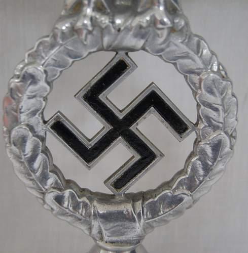 Nazi Flag pole top. Opinions??