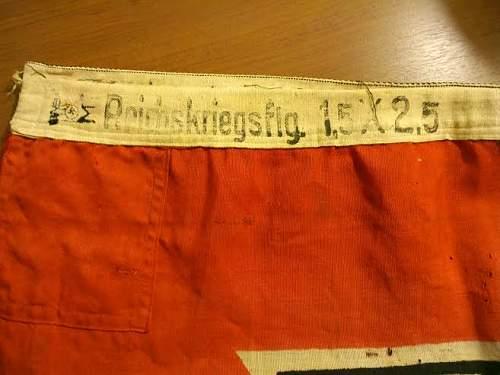 150 x 250 Kriegs Flag