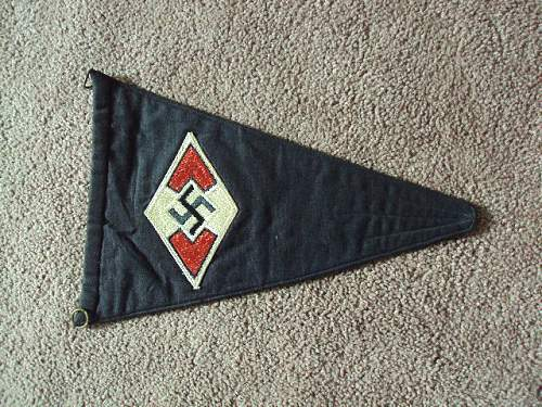 Hitler youth pennant ???