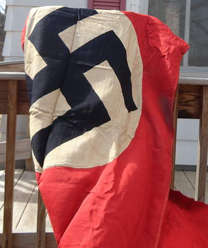 NSDAP Flag or Banner With Ties