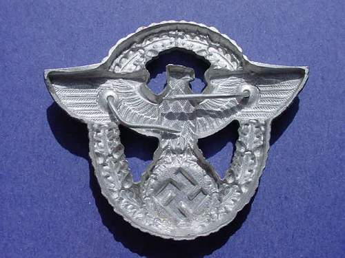 Click image for larger version.  Name:wwii german police cap pin01.JPG Views:939 Size:41.8 KB ID:66330