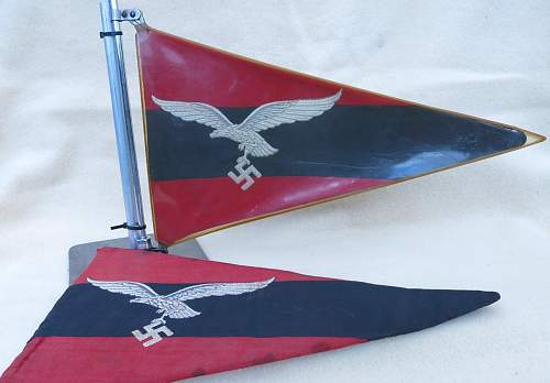 Click image for larger version.  Name:Luftwaffe Flak vehicle pennant 001.jpg Views:101 Size:120.2 KB ID:676757