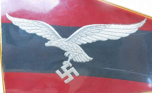 Click image for larger version.  Name:Luftwaffe Flak vehicle pennant 002.jpg Views:84 Size:164.8 KB ID:676758