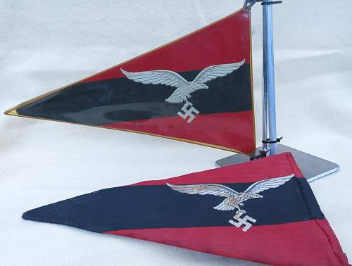 Click image for larger version.  Name:Luftwaffe Flak vehicle pennant 003.jpg Views:119 Size:127.5 KB ID:676760
