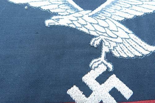 Click image for larger version.  Name:Luftwaffe Flak vehicle pennant 006.jpg Views:56 Size:175.7 KB ID:676763
