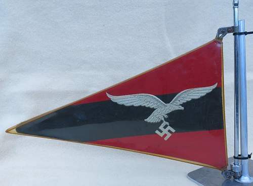 Luftwaffe Flak vehicle pennant