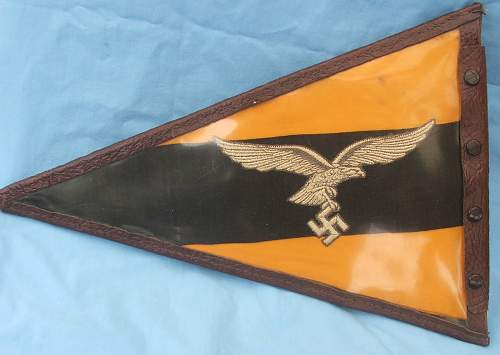 Luftwaffe flight/recce vehicle pennant