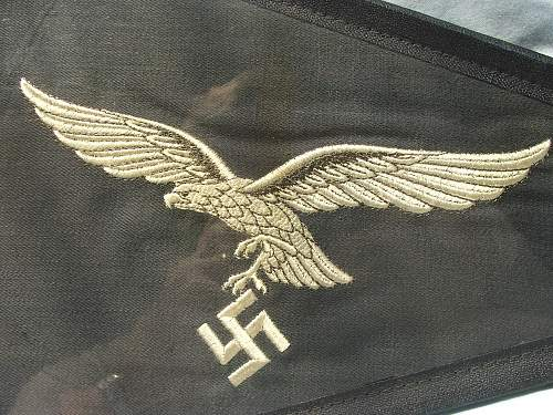 Luftwaffe vehicle pennant for un-assigned officers