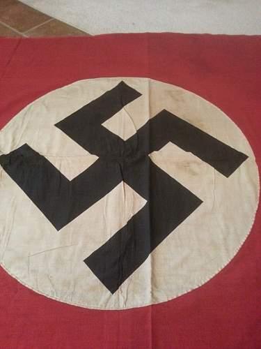 Huge Nazi banner #2 double sided