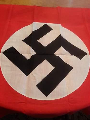 Very clean Nazi flag