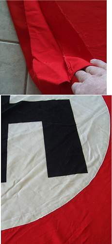 Does this NSDAP Rally Banner look good for 0?