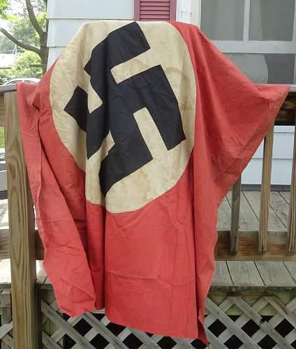 Nazi Flag Or Banner