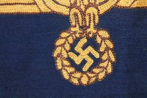 Kriegsmarine Car Pennant, please help to verify