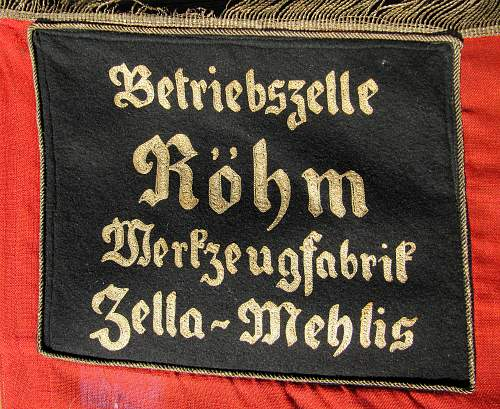Does this Flag have anything to do with Ernst Rohm?