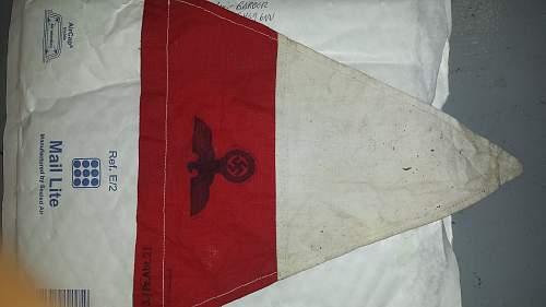 German panzer pennant