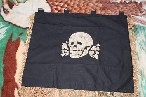 6th SS Mountain Division Nord Banner - Probable Fake