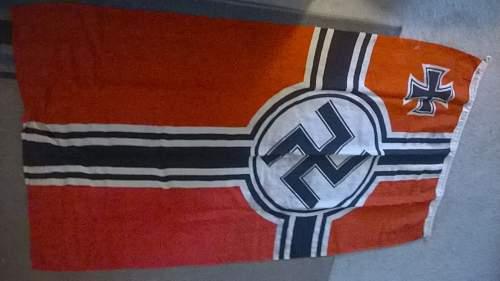 Reichskriegflagge - is it a known fake or look ok?