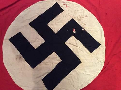 Well used flag