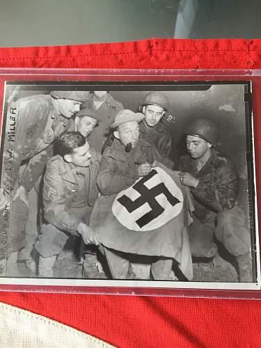 My Bing Crosby signed flag