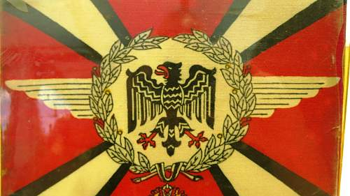 """Click image for larger version.  Name:Hermann Göring Early """"Commander-In-Chief car pennant 003.jpg Views:395 Size:229.5 KB ID:777795"""