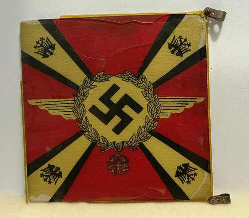 """Click image for larger version.  Name:Hermann Göring Early """"Commander-In-Chief car pennant 006.jpg Views:258 Size:227.9 KB ID:777798"""