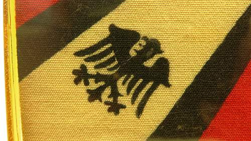 "Early Hermann Göring Early ""Commander-In-Chief""- vehcile pennant"