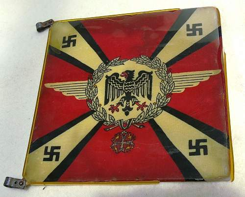 """Click image for larger version.  Name:Hermann Göring Early """"Commander-In-Chief car pennant 011.jpg Views:236 Size:224.9 KB ID:777802"""