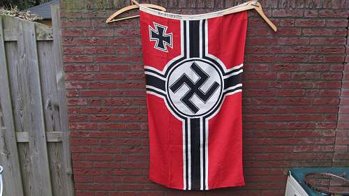 Reichskriegsflagge 80x135
