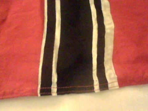 Reichskriegsflagge 100 x 55 - odd size?