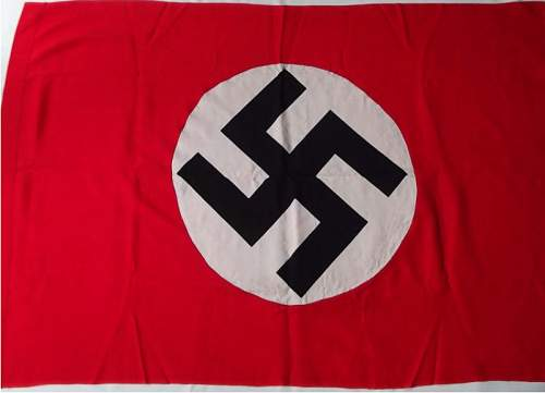 NSDAP Flag - Thoughts?