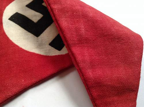 NSDAP Pennant flag for review