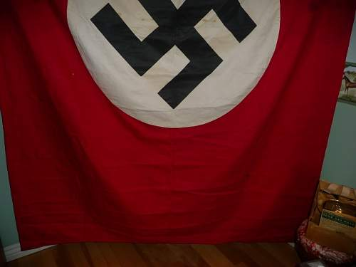 Large Nazi flag