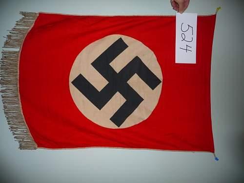 Nazi podium banner