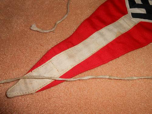 hj bicycle pennant