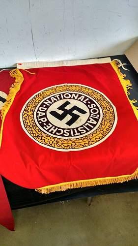 Fahne der Alten Garde der NSDAP