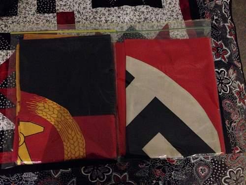 Flag storage ideas
