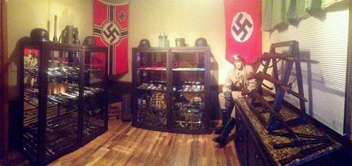 Added Flags up in the war room today