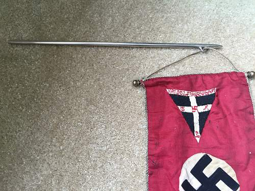 One of a kind NS-Frauenschaft Banner?