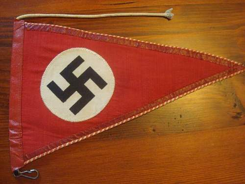 NSDAP Pennant for review