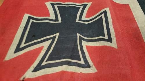 Question about german battle flag?