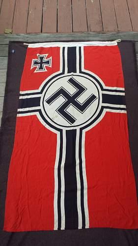 Reichskriegsflagge (German War Flag)