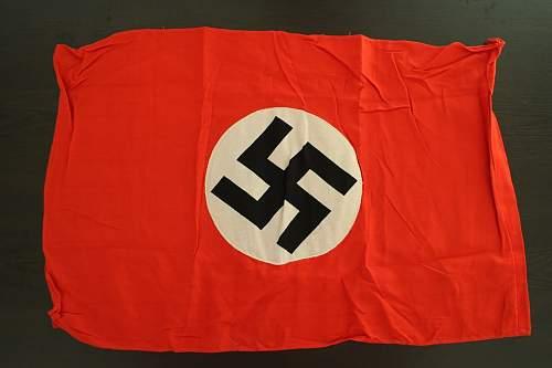 NSDAP Flag is original or not?