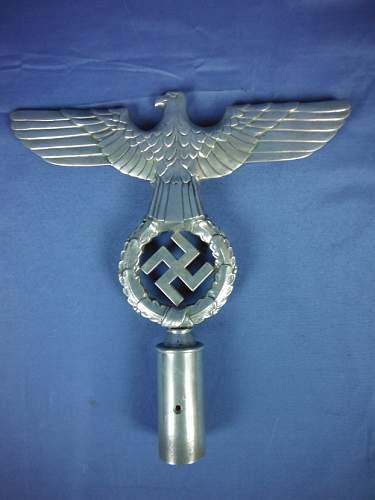 NSDAP 2nd pattern pole top ---