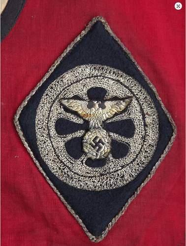 NSKK patch on a guidon